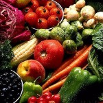 picture of crunchy veggies